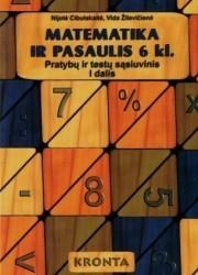 Matematika ir pasaulis 6 klasei 1 dalis pratybų atsakymai nemokamai virselis 180x250